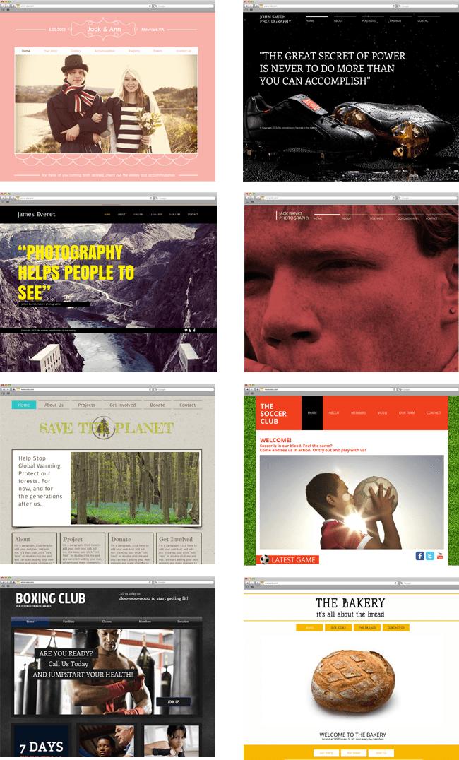Шаблоны для сайтов HTML5