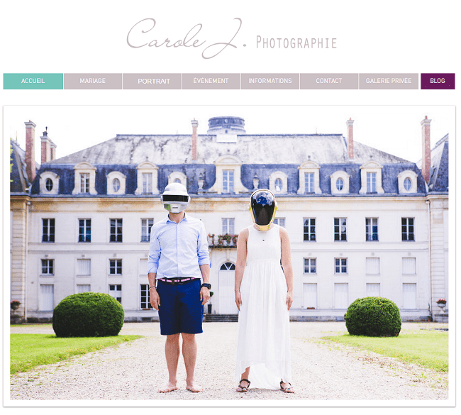 Site : Carole J. Photographie