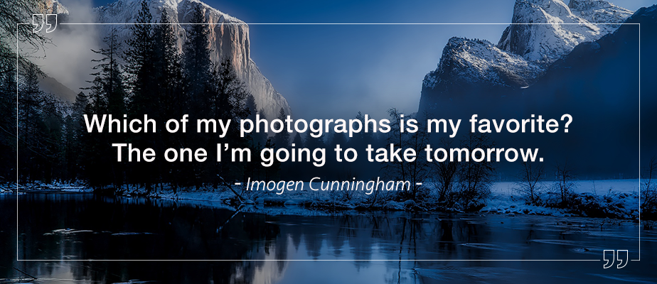 imogen cunningham inspirational photography quote