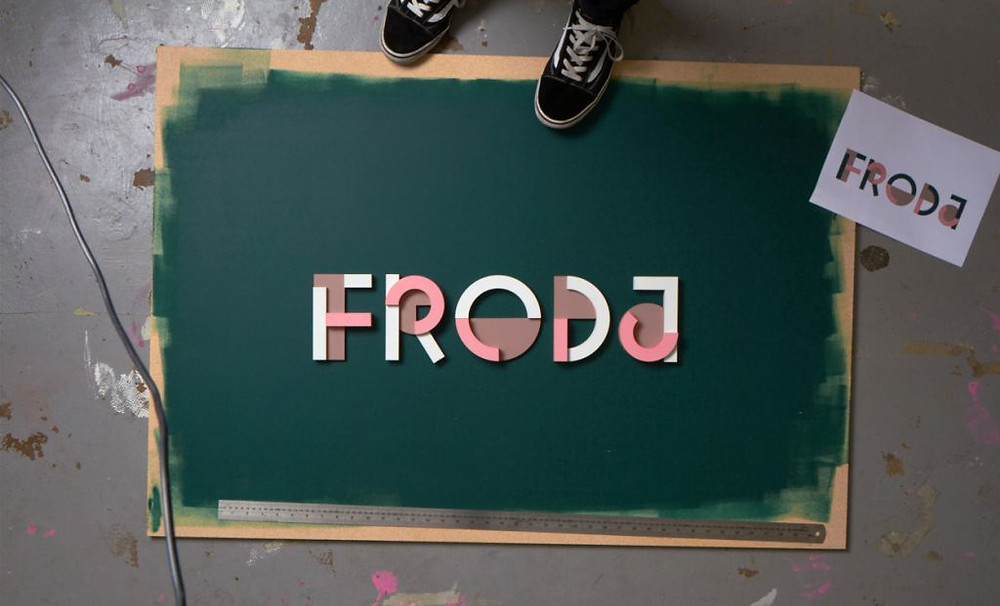 Froda identity and logo design by Snask