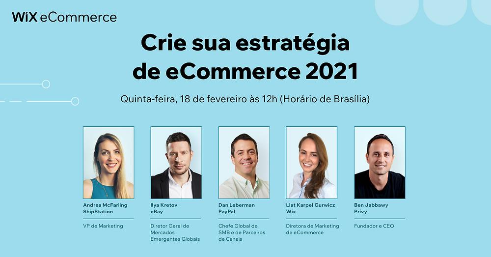 Vídeo do Evento: Como Desenvolver Sua Estratégia de eCommerce Para 2021