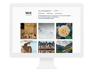 Compte Instagram Wix Photography