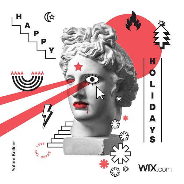 Online greeting card design by Yotam Kellner