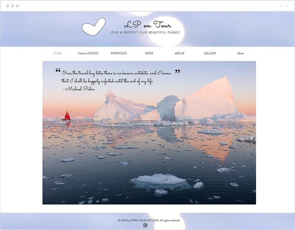 風景写真家サイト Erika Valkovicova