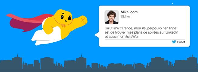 Concours Wix « Décrivez-nous votre super-pouvoir et gagnez un iPhone5 »