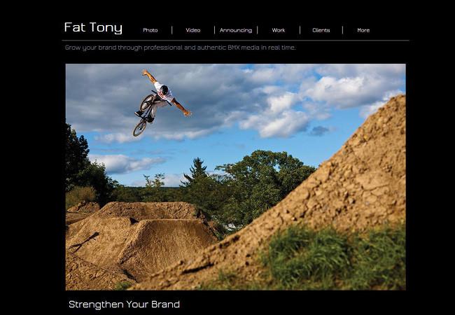 Сайт фотографа Фэт Тони