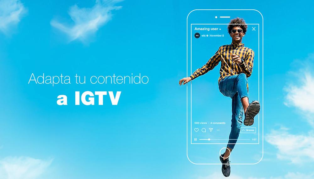 Cómo adaptar videos a IGTV