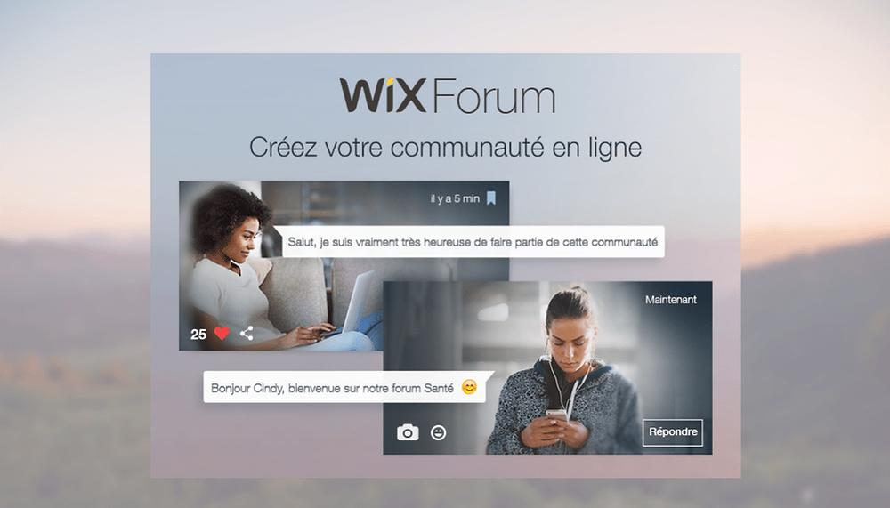 Nouveauté ! Créez votre communauté en ligne avec Wix Forum