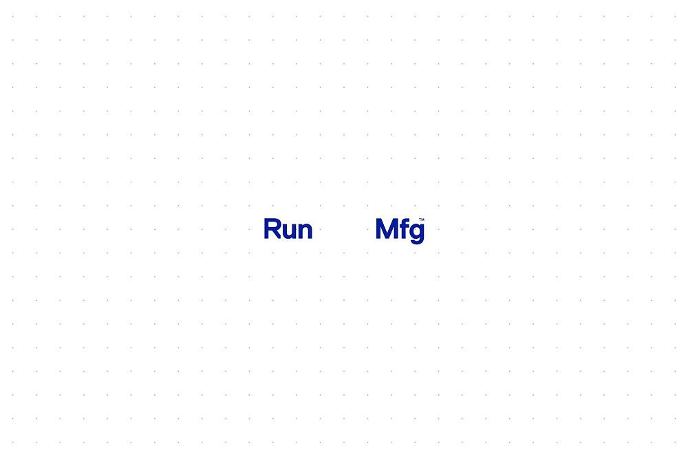 Perky Bros animated logo for Run Mfg