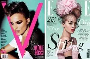 Типографика модных журналов
