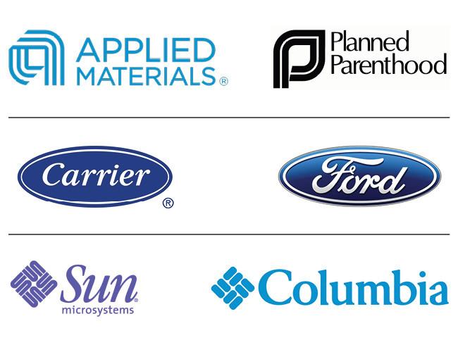 Логотипы подражатели