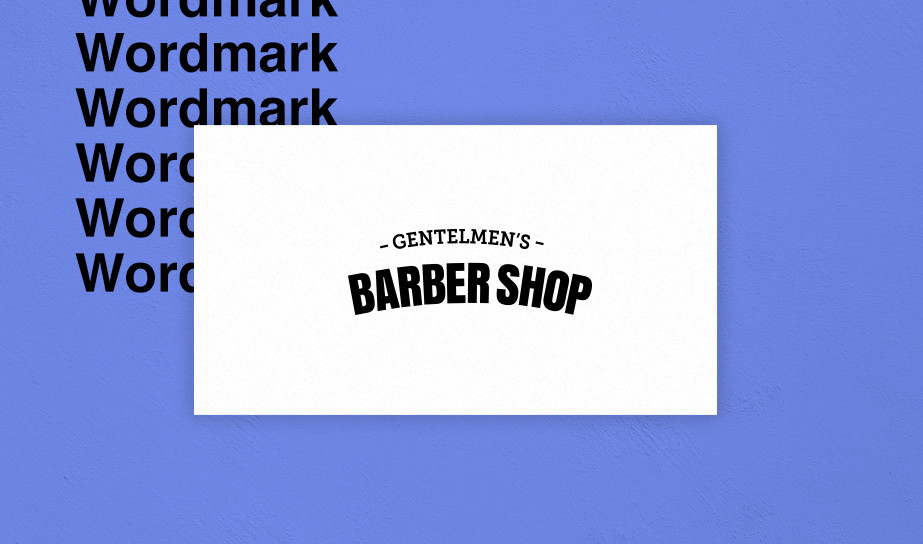 Wordmark/logotype logo example