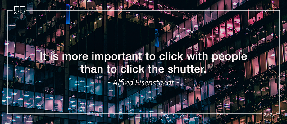alfred eisenstaedt photography quote
