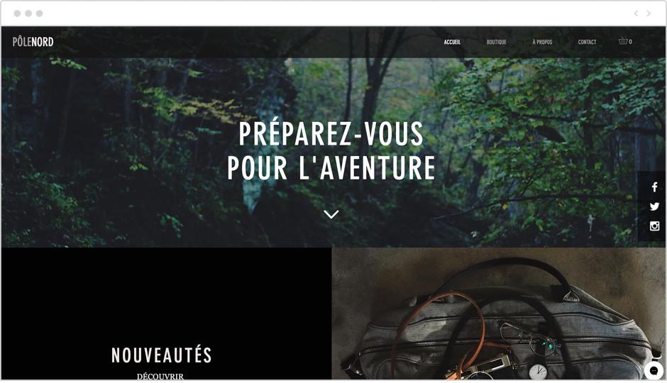site web d'influenceur
