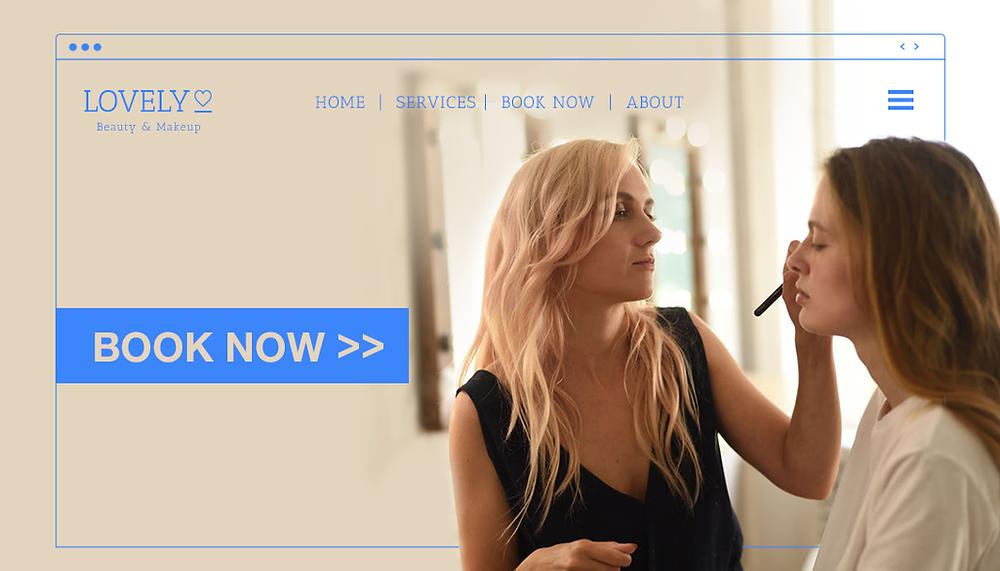Wix Bookings 서비스를 설명하는 블로그 메인 이미지