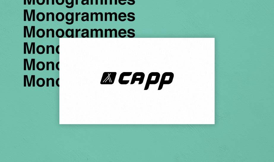 exemple de logo monogramme