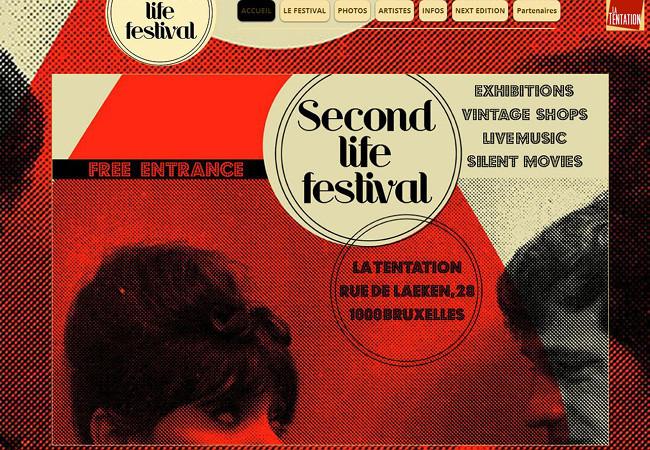 Página web de Second Life Festival