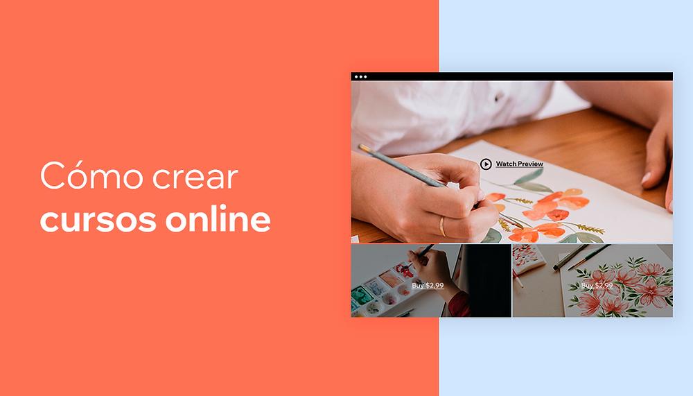 Cómo crear un curso online con Wix