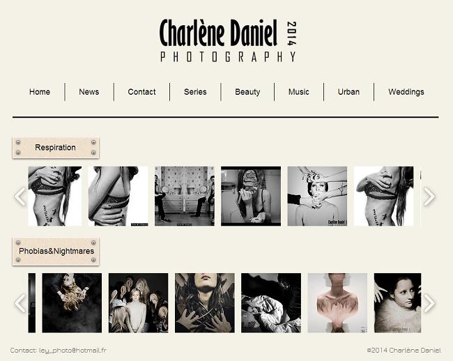 Site Charlène Daniel Photography