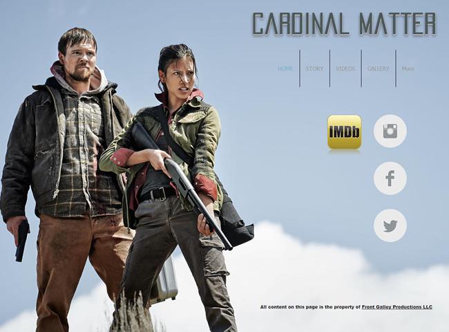 Сайт фильма Cardinal Matter