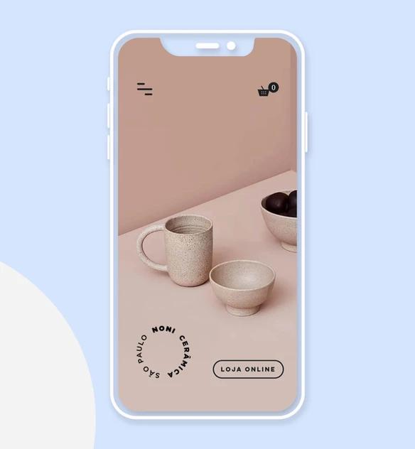 Sito mobile di Noni Ceramica