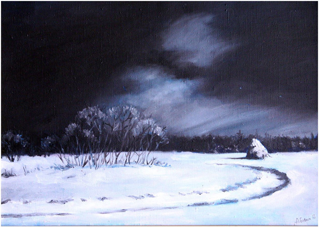 «Зимой», Аркадий Бабич