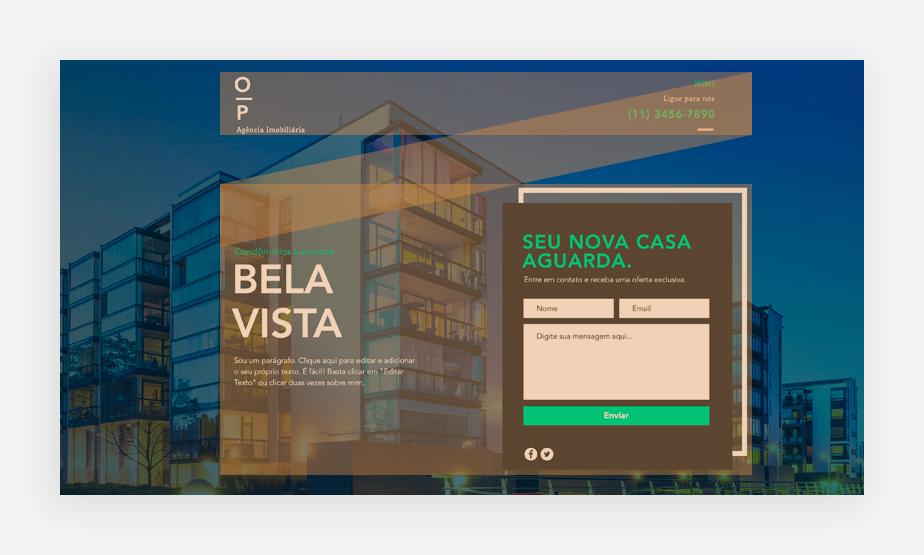 Sobre layouts de site: padrão Z
