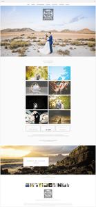 site de photographie david rochas créé avec Wix