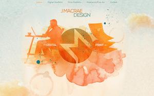 Page d'accueil du site J. MacRae