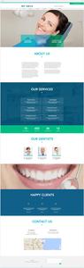 Site Wix Template Dentiste Médecin Médical