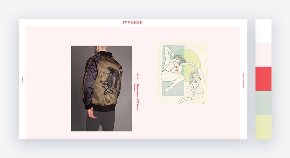 50 paletas de cores para o seu site: delicada e precisa