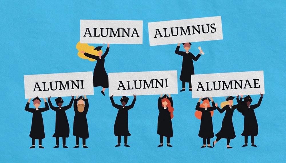 """Alumnus"", ""Alumni"", ""Alumna"", ""Alumnae"": What's the Difference?"