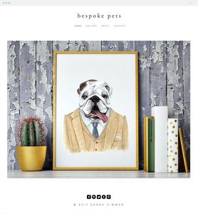 Bespoke Pets Wix website