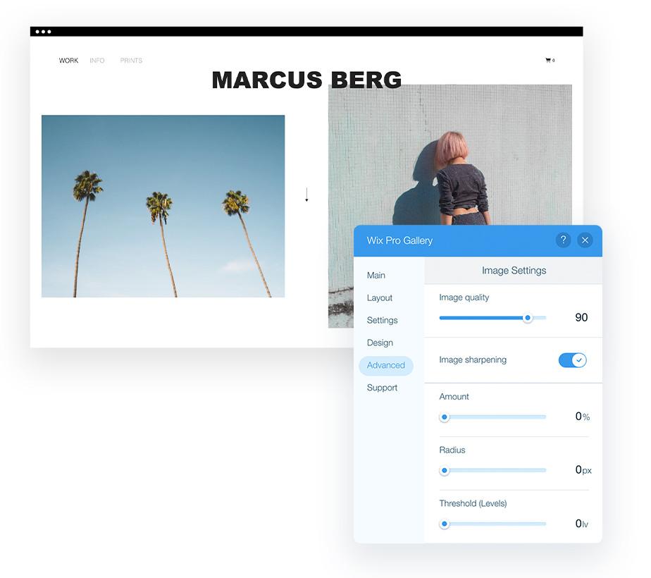 Najlepsze rozwiązanie do optymalizacji zdjęć Twojej strony Wix Pro Gallery