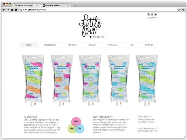 Página de Inicio de Little Love
