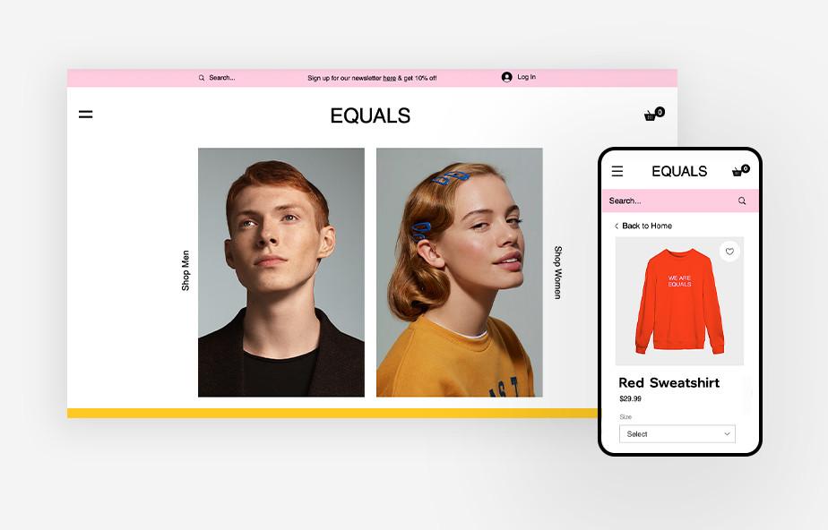 Mobilna wersja strony internetowej