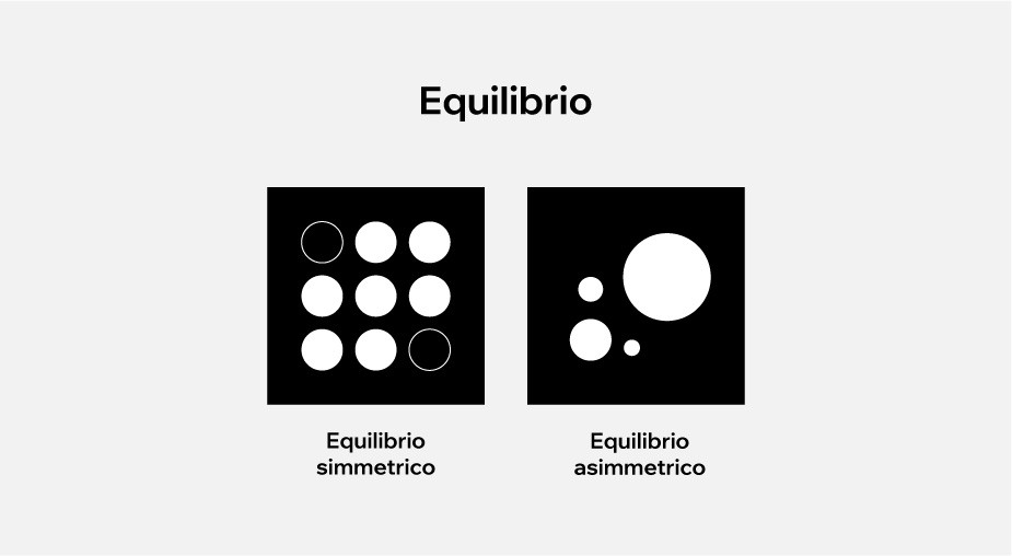 principi di design applicati al web design: equilibrio