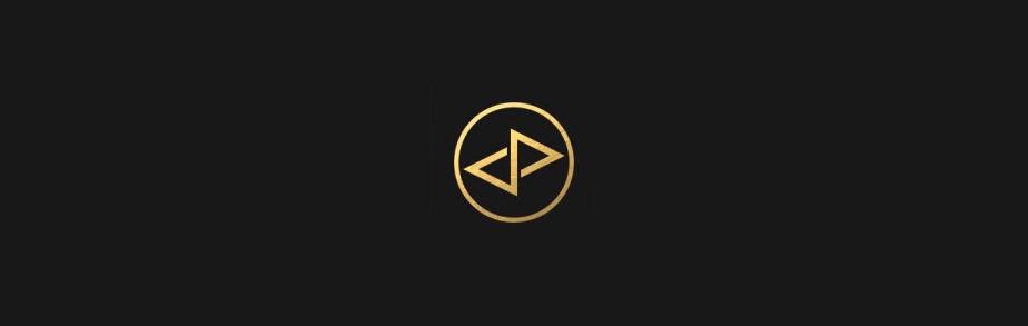 幾何学的ロゴデザイン