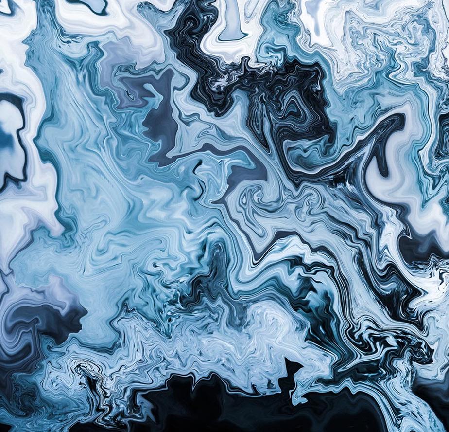 Imagen abstracta que representa el invierno