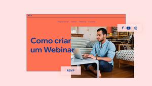 Como criar um webinar