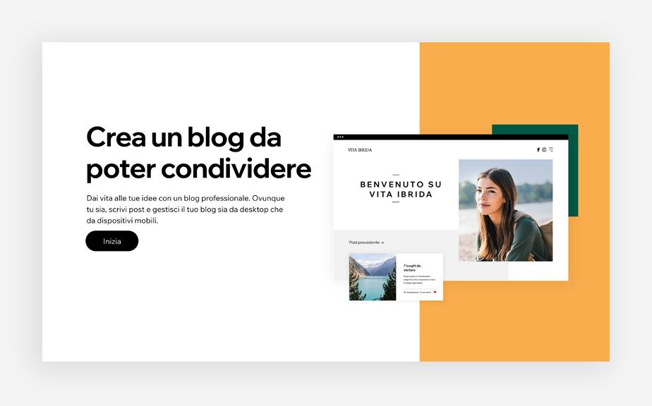 un'immagine per creare un blog che può aiutare a promuovere il tuo corso online