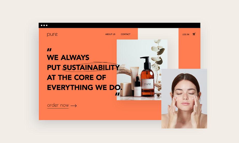 web sitesi kurma: tasarım