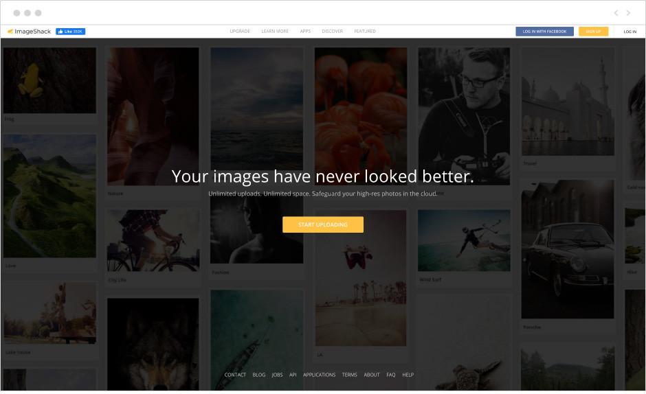 Imageshack - najlepszy darmowy hosting zdjęć dla firm