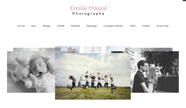 Site : Emilie Massal photographe pau toulouse