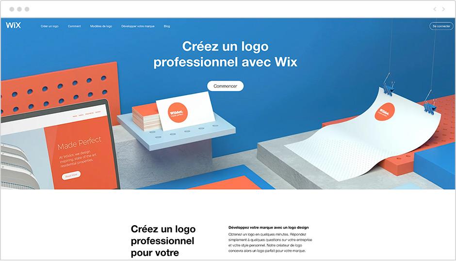 Générateur de logo Wix