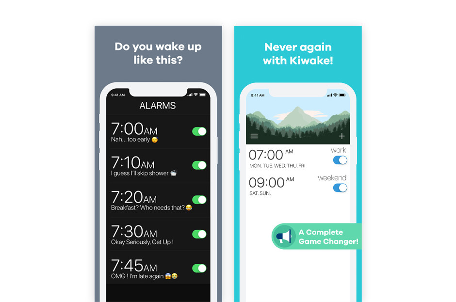 Kiwake is one of the best time management apps