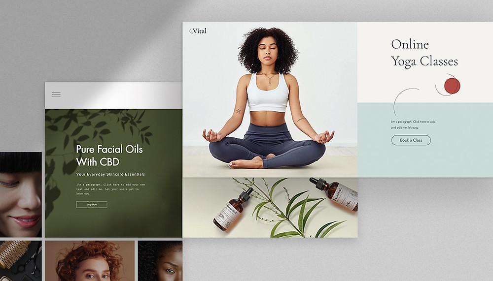 """Imagem de capa do artigo """"30+ Templates de Sites Simples Para Todos os Projetos e Negócios Online"""""""
