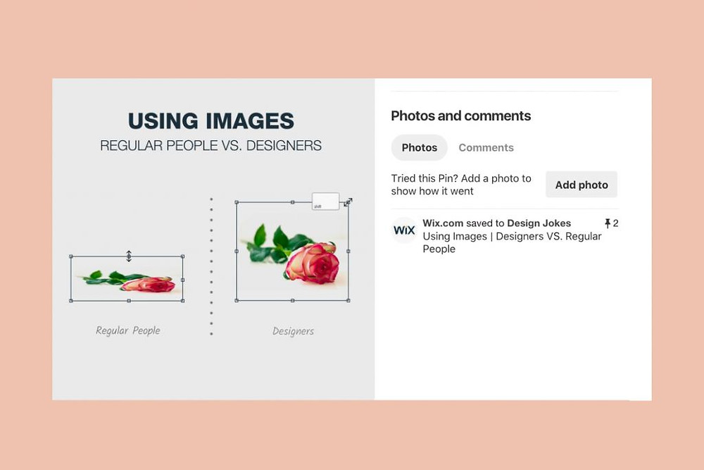 Design joke posts on social media