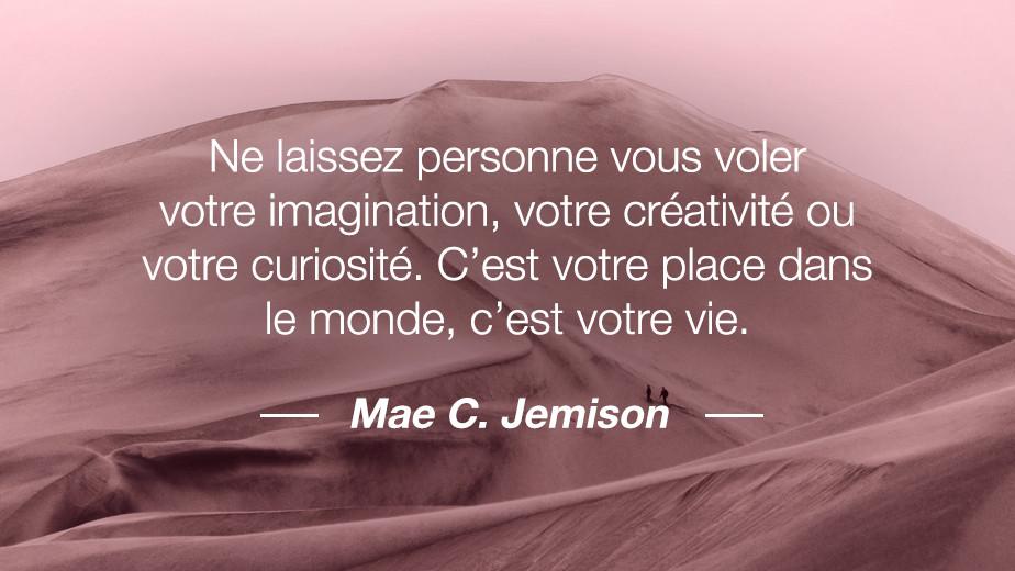 Citation Mae C. Jemison