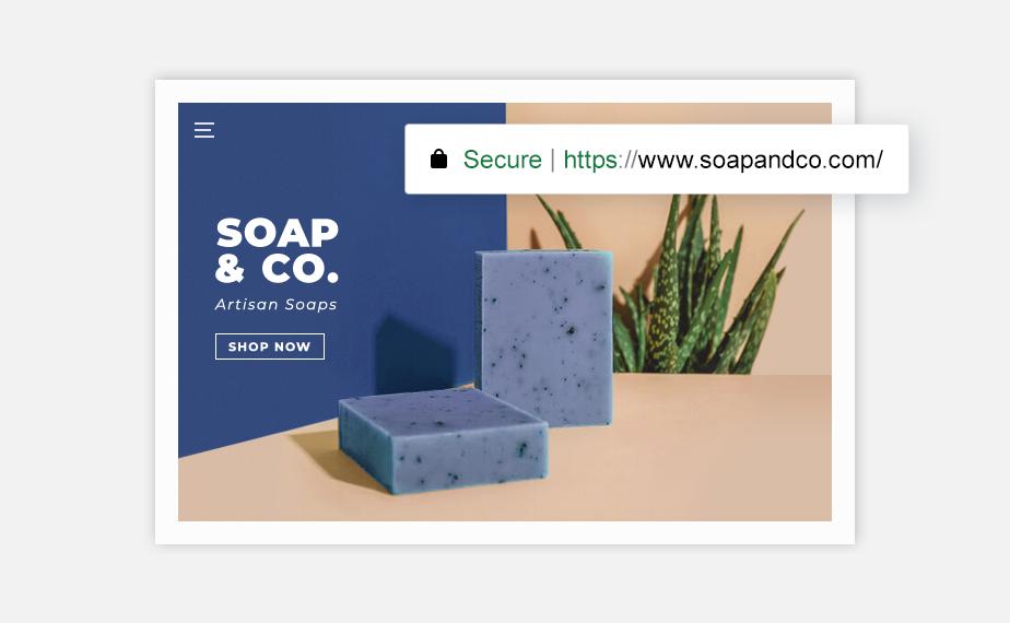 e-ticaret sitesi kurma: Sabun şirketi e-ticaret sitesi domain araması
